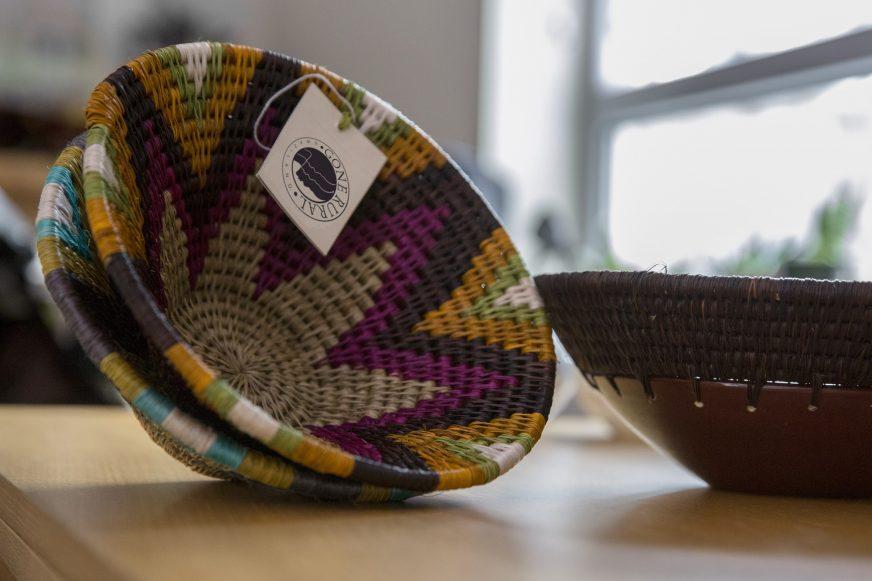 woven bowls