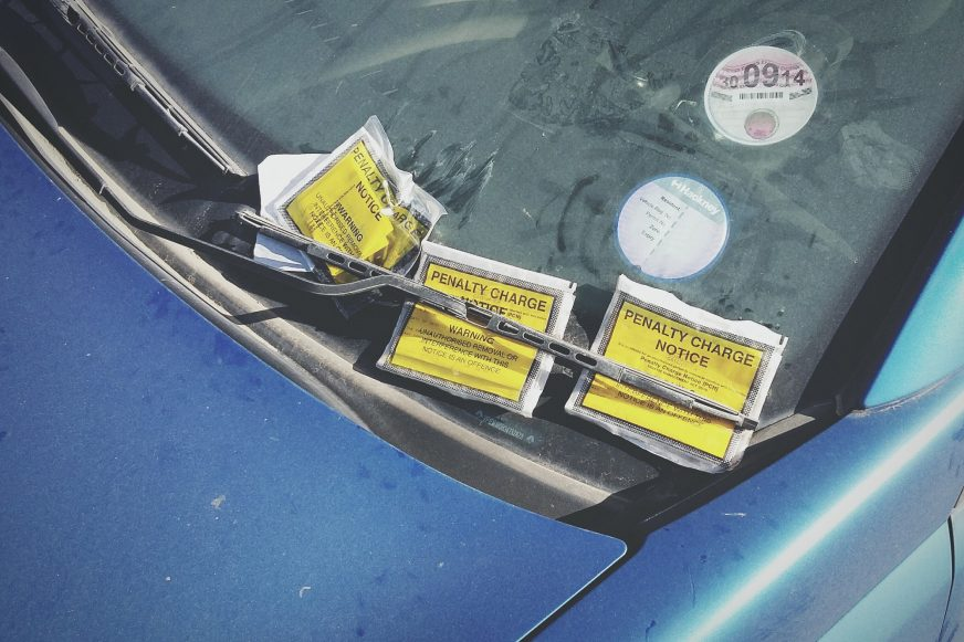 car penalty notices