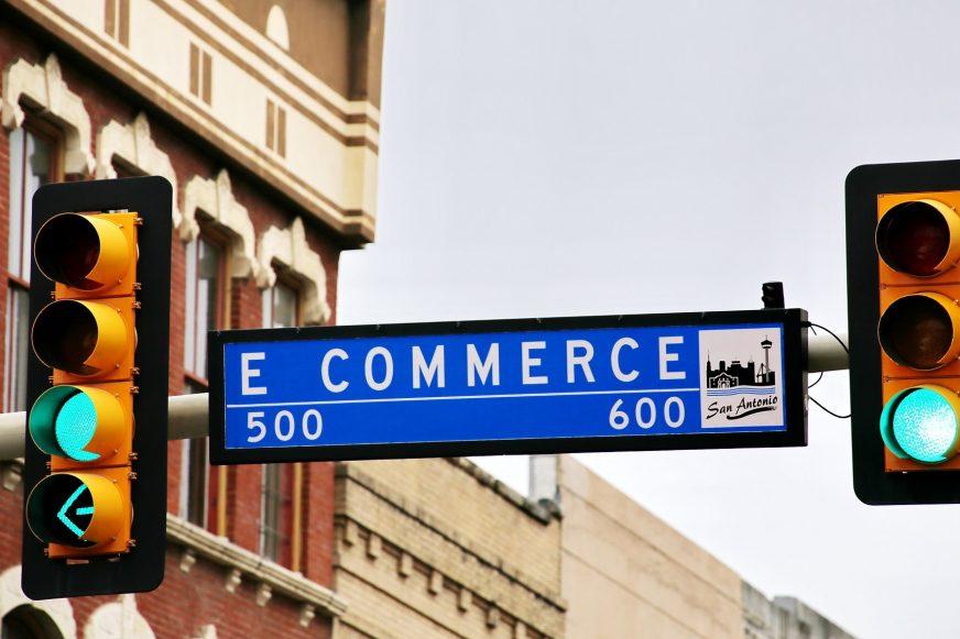 Ecommerce traffic sign