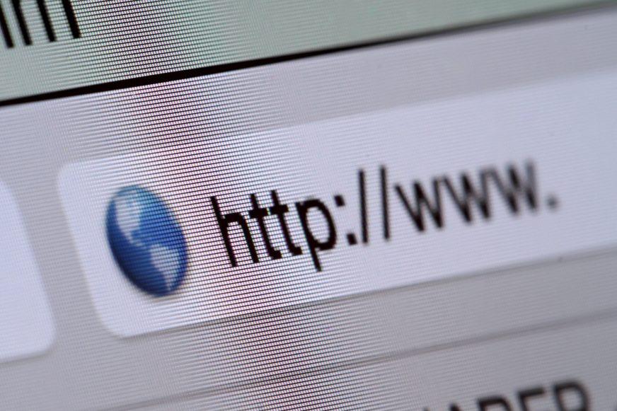 URL on web browser
