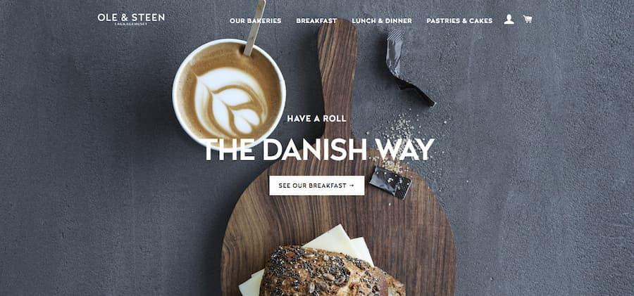 The Danish Way website screenshot