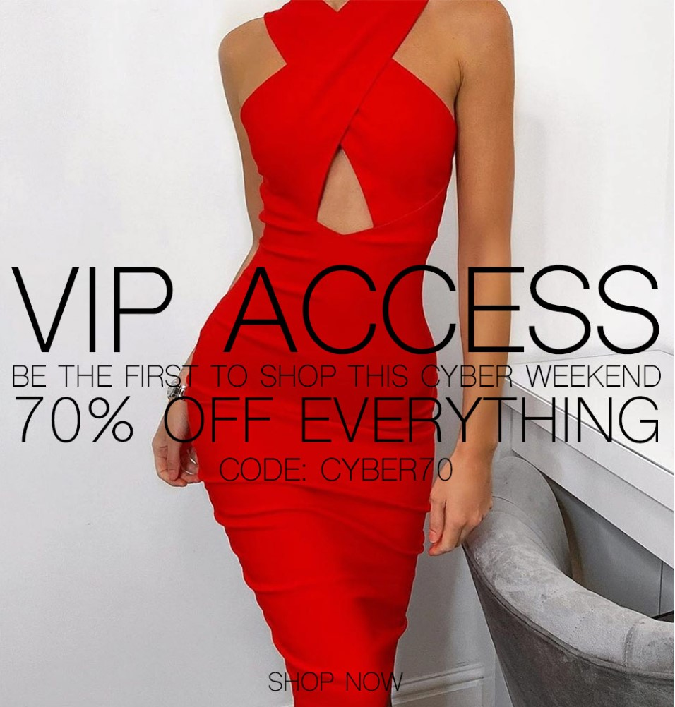Email marketing VIP example