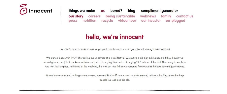 conversational friendly writing style