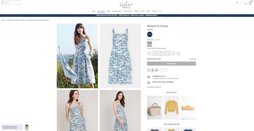 Sea Salt Cornwall Dresses