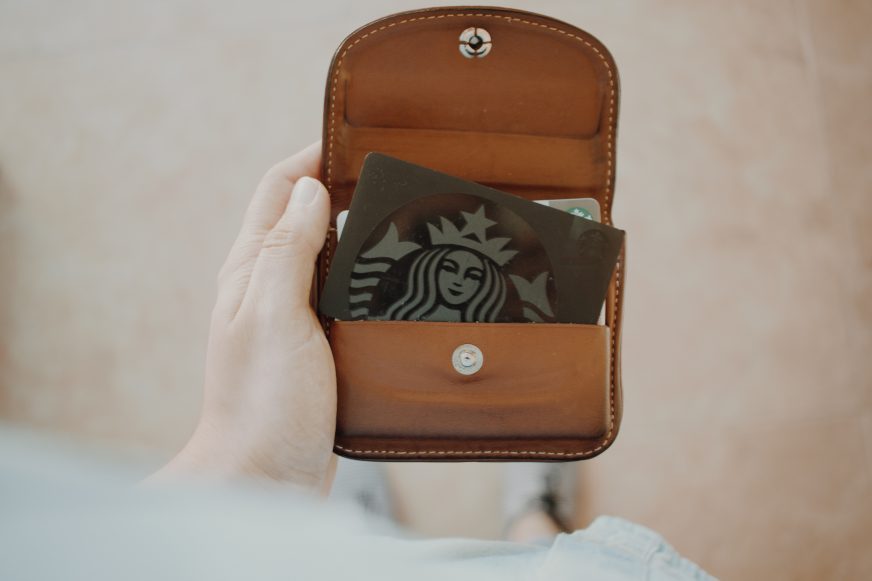 Loyalty cards in a wallet
