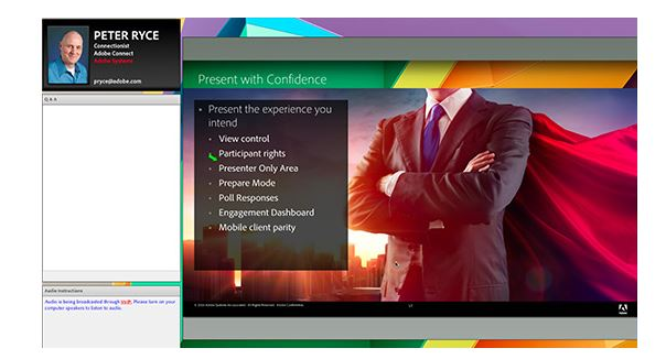 Adobe Connect Webinars