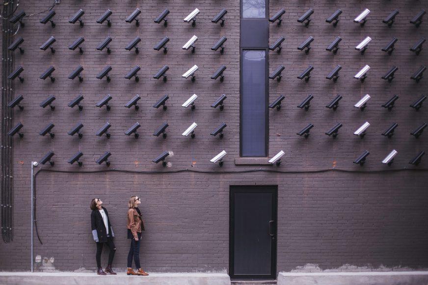 CCTV on wall