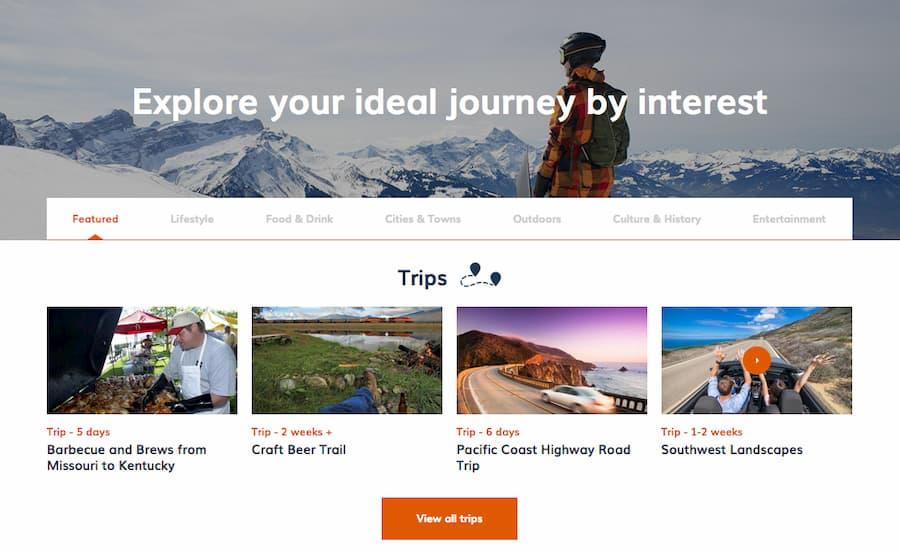 USA trip planner - Step 4