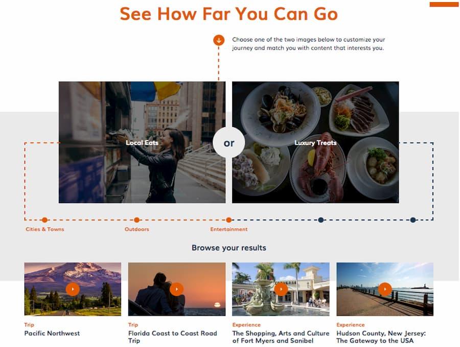 USA trip planner - Step 5