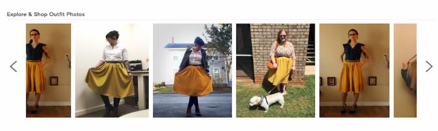 Mod Cloth outfit photos