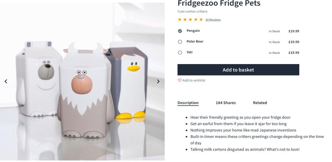 Firebox product page