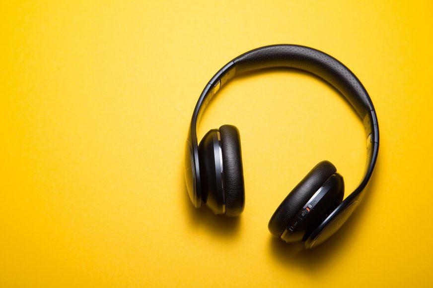 A set of headphones