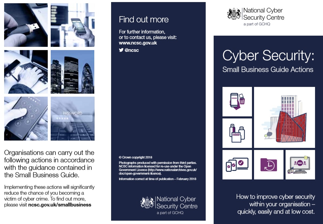 NCSC small business guide
