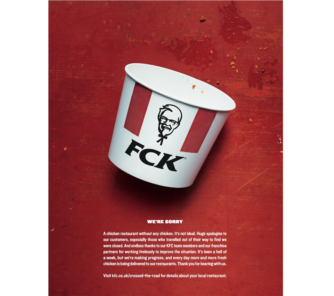 KFC FCK Campaign