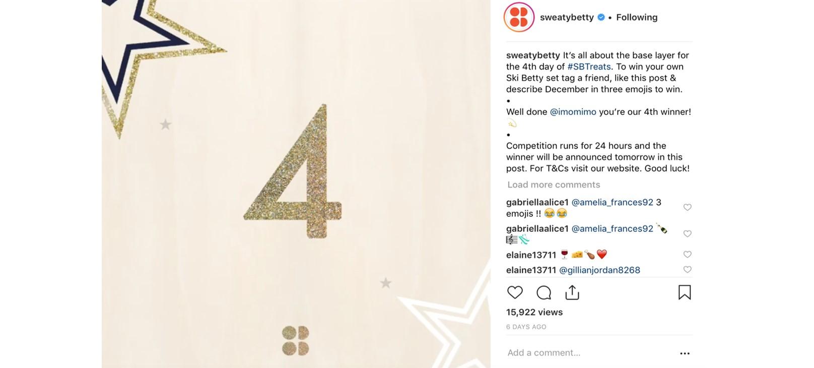 sweatybetty Instagram post