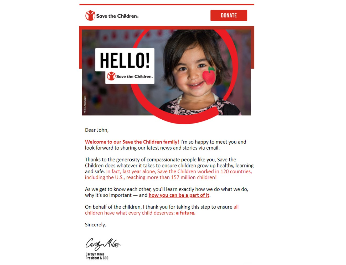 save the children email