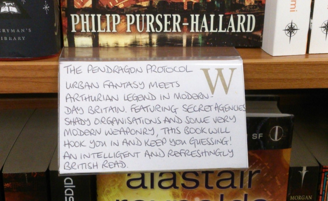 Waterstones in-store book review