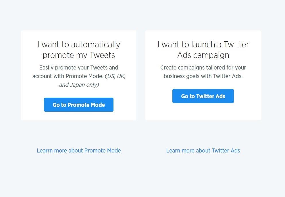 Twitter Ads setup