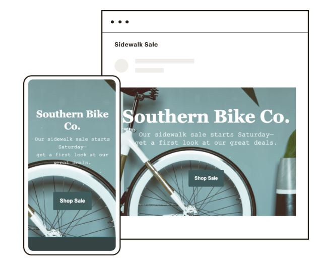 Mailchimp email template example