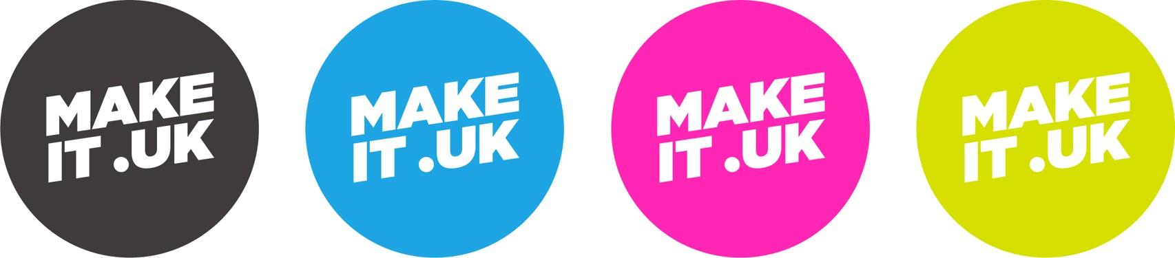 MAKE IT .UK Badges