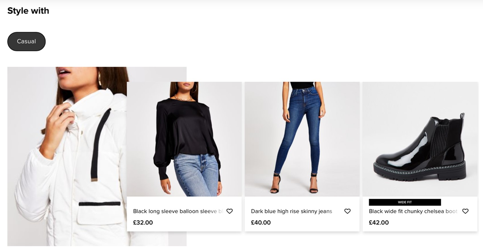 River Island recommended products