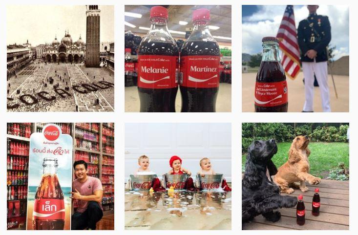 #shareacoke Instagram hashtag