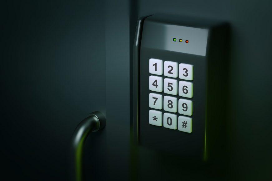 security door keypad
