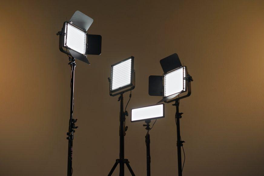Filming spotlights